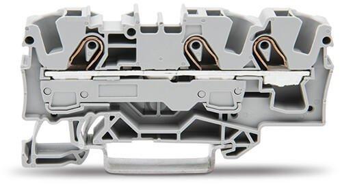 Borne 6mm - 3 Condutores - Cinza - 2006-1301