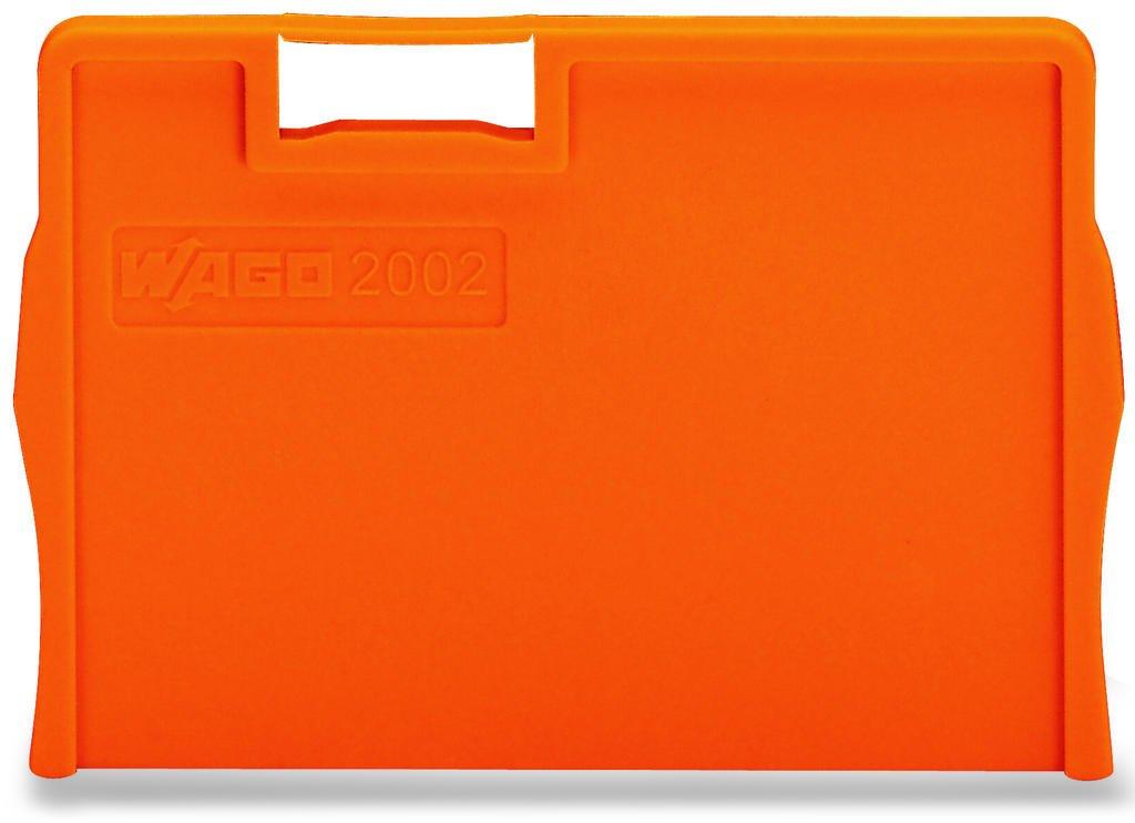 Placa Separadora para Borne TOPJOB 2,5mm - laranja - 2002-1294