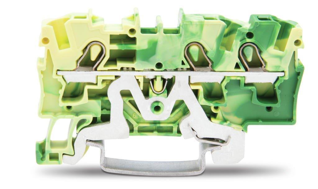 Borne 4mm - 3 Condutores - Terra - 2004-1307