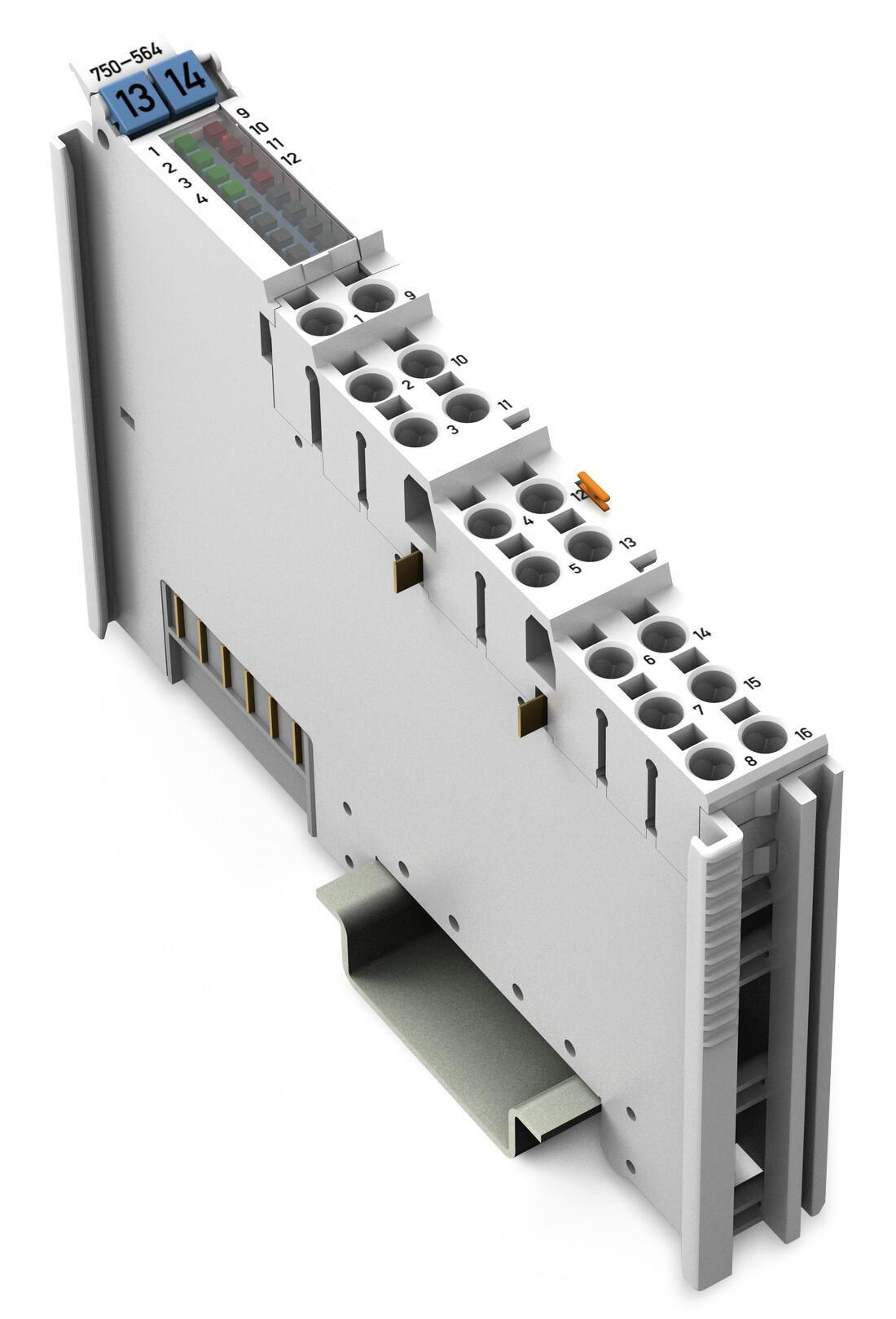 Módulo de saídas analógica - 4 canais / 750-564