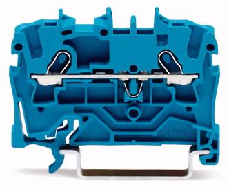 Borne 2,5 mm - 2 Condutores - Azul - 2002-1204