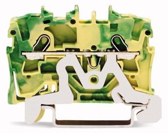 Borne 1,5 mm - 2 Condutores - Terra - 2001-1207