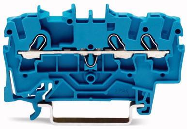 Borne 2,5mm - 3 Condutores - Azul - 2002-1304