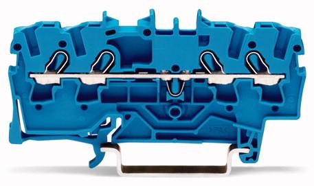 Borne 2,5mm - 4 Condutores -  Azul - 2002-1404