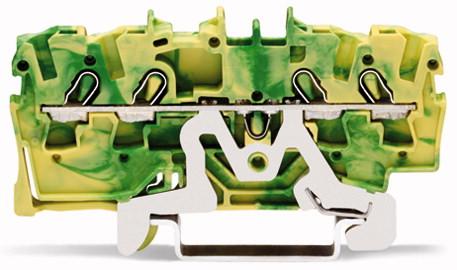 Borne 2,5mm - 4 Condutores - Terra - 2002-1407