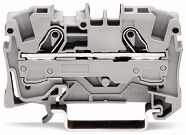 Borne 6mm - 2 Condutores - Cinza - 2006-1201