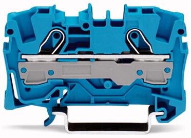 Borne 6mm - 2 Condutores - Azul