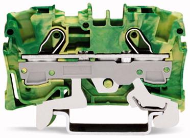 Borne 6mm - 2 Condutores - Terra - 2006-1207