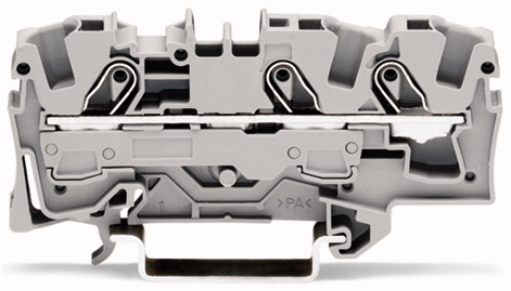 Borne 10mm - 3 Condutores - Cinza - 2010-1301