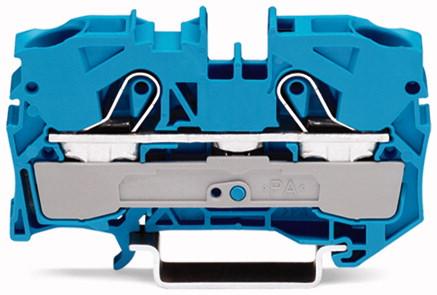 Borne 10mm - 2 Condutores - Azul - 2010-1204