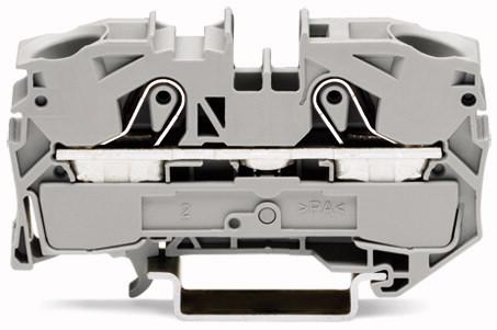 Borne 16mm - 2 Condutores - Cinza - 2016-1201