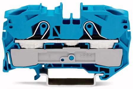 Borne 16mm - 2 Condutores - Azul - 2016-1204