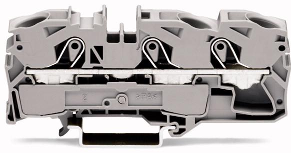 Borne 16mm - 3 Condutores - Cinza - 2016-1301