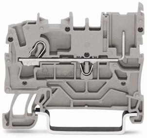 Borne X-com 2,5mm - 2 Condutores - Cinza - 2022-1201