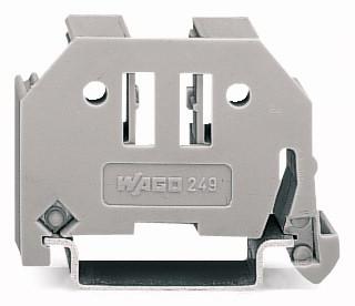 Borne 10mm para Poste de Identificação - Cinza - 249-117