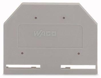 Placa Final para Borne Cage Clamp 2,5mm - Cinza - 281-301