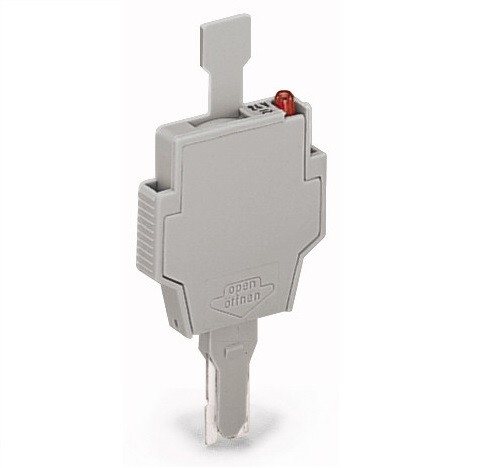 Conector Fusível 6mm - Cinza - C/LED - 281-512/281-501