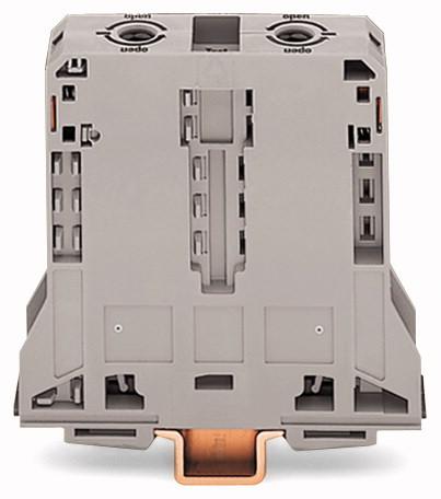 Borne 95mm - 2 Condutores - Cinza - 285-195
