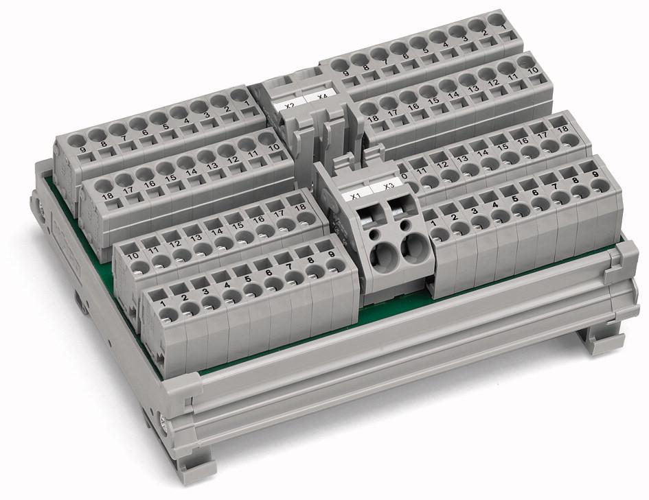 Módulo de Distribuição - 4 Potenciais - 19 Conexões - 288-837