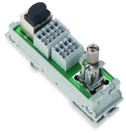 Módulo de interface para ETHERNET RJ-45 - 289-175/790-108