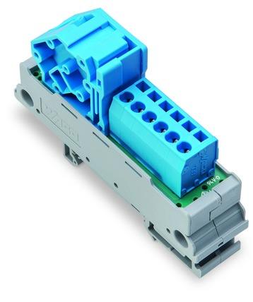 Módulo de Distribuição- 1 Potencial- 6 Conexões - 830-800/000-302/000-006
