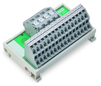 Módulo de Distribuição - 2 Potenciais - 16 Conexões - 830-800/000-307