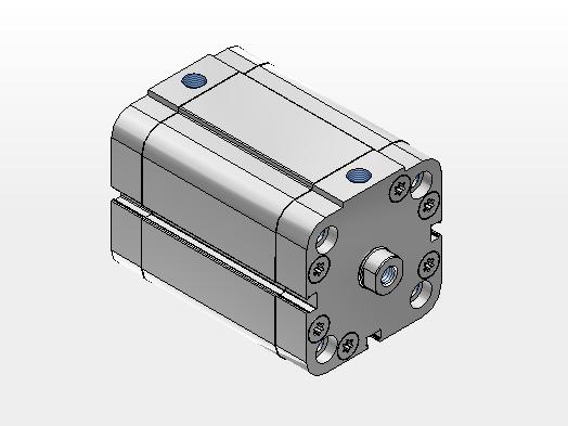 Cilindro Série CMPC 50x250 - 2600500250CP